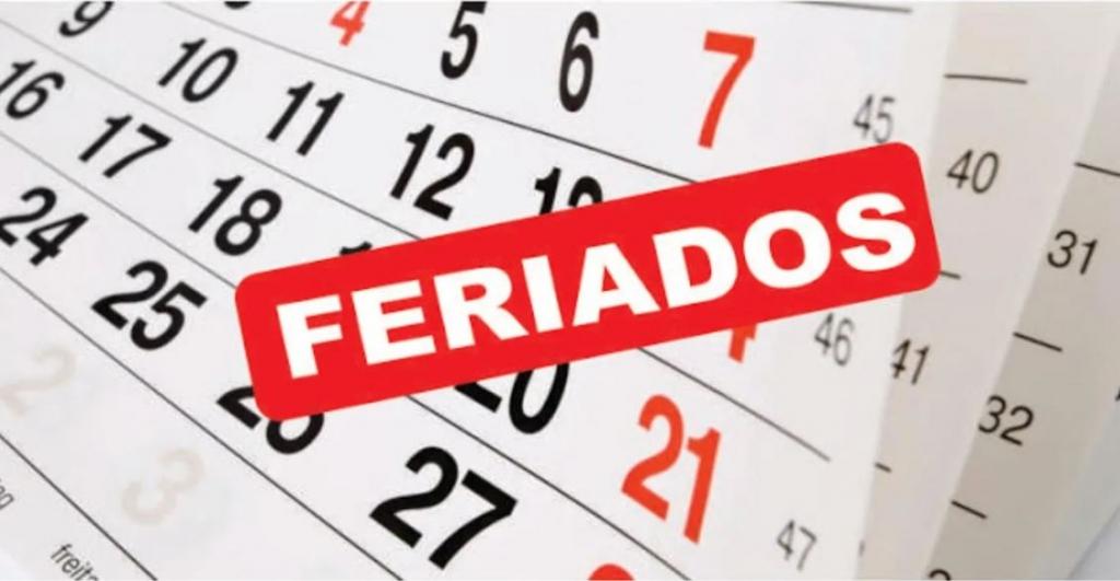 RECORDATORIO PARA LOS USUARIOS * FERIADOS JULIO *.